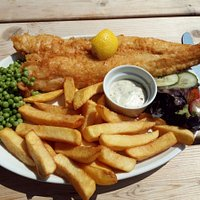 The White Horse Dover Sole With Chips