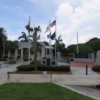 the Key West Veterans Memorial Garden at Bayview Park