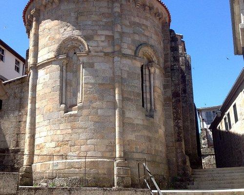 Cabecera de la iglesia de Santiago (Ribadavia, Pontevedra).