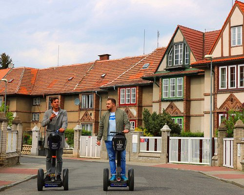 Amazing segway ride in the Old Streshovice (Prague's Beverly Hills)