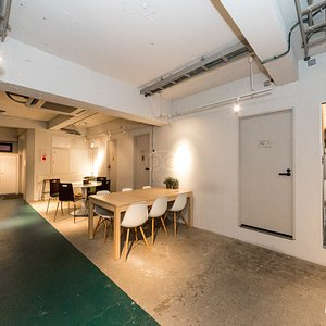 Common Space Forth Floor at the Imano Tokyo Hostel
