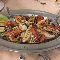 Gamberoni e calamari di Mazzara!!!