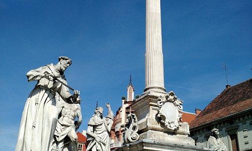 The column in Glavni Trg