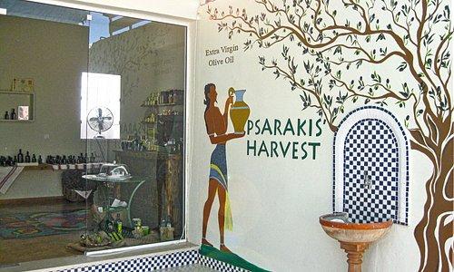 Psarakis' Harvest - Exclusive Extra Virgin Olive Oil Point