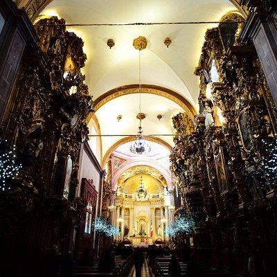 内装が素晴らしい教会
