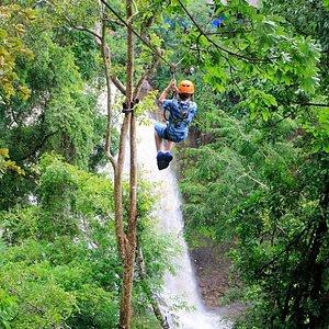 Mayura Zipline @ Waterfall