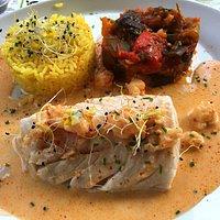 les poissons cuits à la perfection