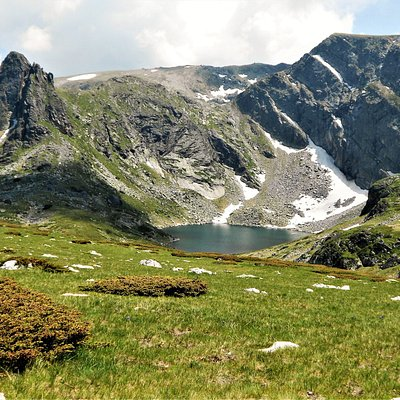 One of Seven Rila Lakes, Rila National Park