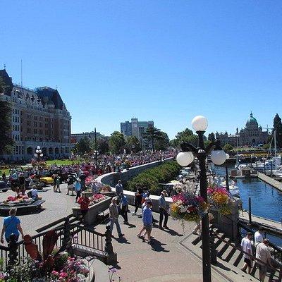 Walk Along Inner Harbour
