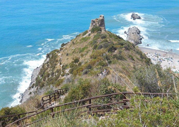 torre del telegrafo, sentiero degli innamorati, Ascea