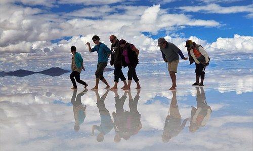 Turist Enjoing - Photo at Rain Season