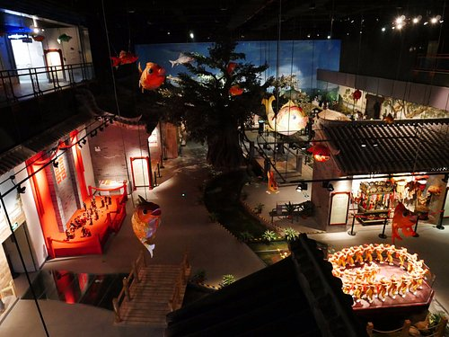 The section of the museum on the way of life in Shunde. Informative and high quality curation.