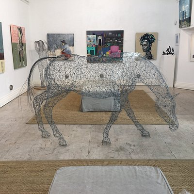 Horse inside the Gallery