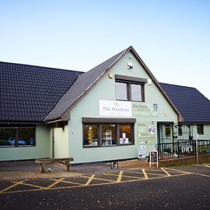 The Visitor Centre houses a friendly cafe, accessible toilets with a Wild Play area to the rear.