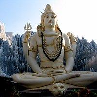 65-feet-tall Lord Shiva statue