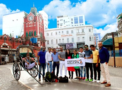 Explore Kolkata Differently..!! We are the one and only Free Walking Tour in the city..!!