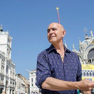The guide of tour Antonio Barbini