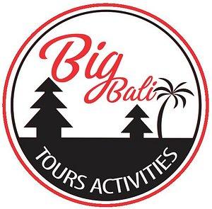 Logo big bali tours and Activities in Bali, this logo has tridatu pilosofi, balinese culture