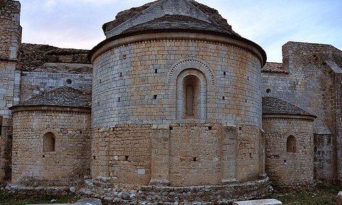 Canònica de Santa Maria, Vilabertran (Alt Empordà, Gérone, Catalogne), Espagne.