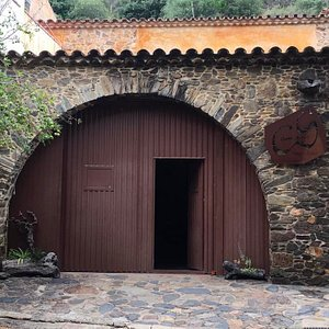Enterance to the winery