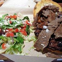 The Opa Greek Burger