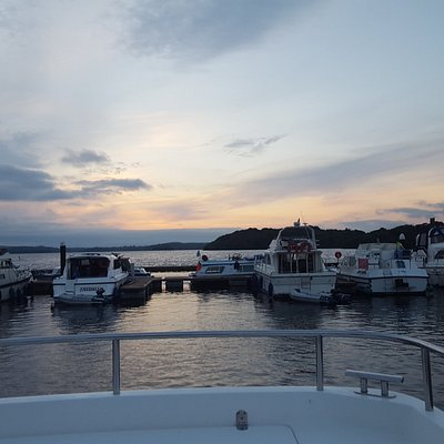 Lough Key at sunset