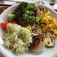 misto verdure fresche e grigliate