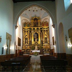 Panorámica de la iglesia del convento