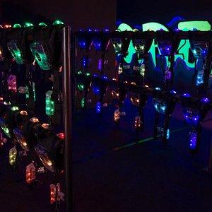 45 Premium LaserTag-Ausrüstungen von Laserforce