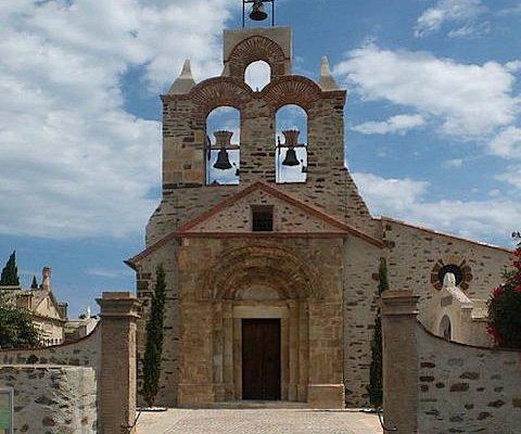 Église Saint-Jean-Baptiste (dite la Rectorie), Banyuls-sur-Mer (66, Occitanie), France.
