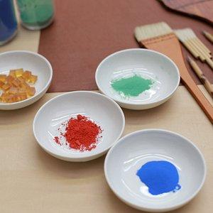 Nihonga materials (Japanese-style painting)  日本画の道具