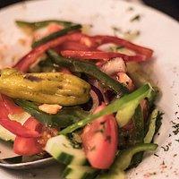 A very Greek salad indeed