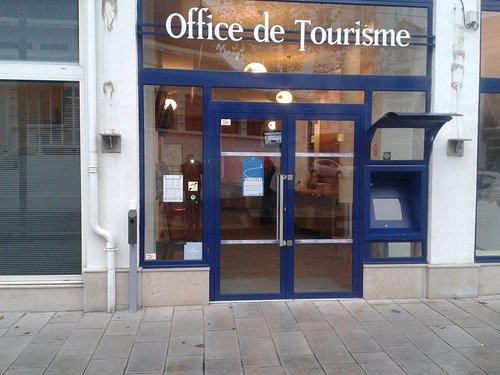Entrée de l'office de tourisme de Saint-Jean-de-Luz