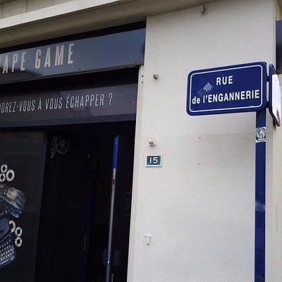 Façade Caen You Escape