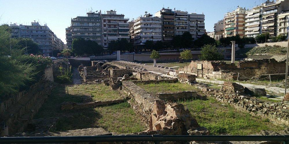 Agora romana, Salonicco