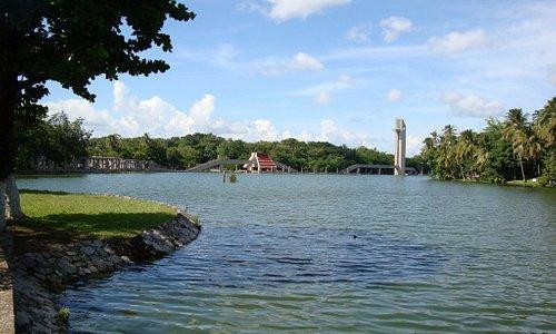 Laguna de Las Ilusiones desde el Parque Tomas Garrido