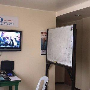 PADI classroom