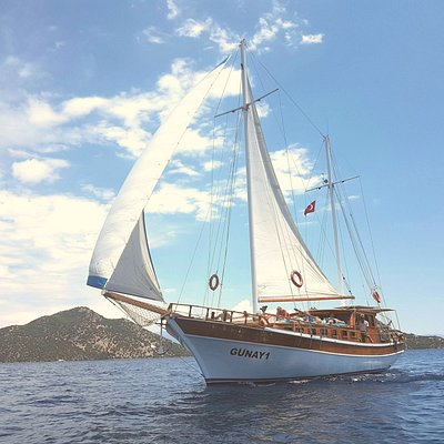 Günay 1 Sailing Gocek Turkey max 12 people eco-trips!