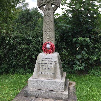 War Memorial Great Carlton