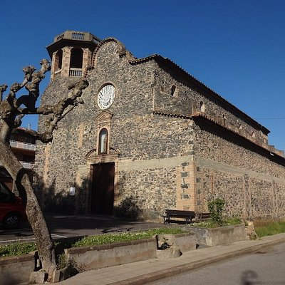 Església Sant Salvador (nova), Castellfollit de la Roca (Garrotxa, Gérone, Catalogne), Espagne.