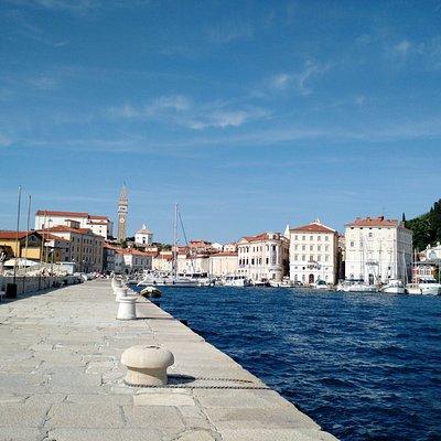 The port of Piran