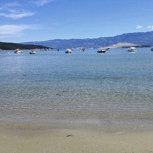 Spiaggia sabbiosa di Podsilo