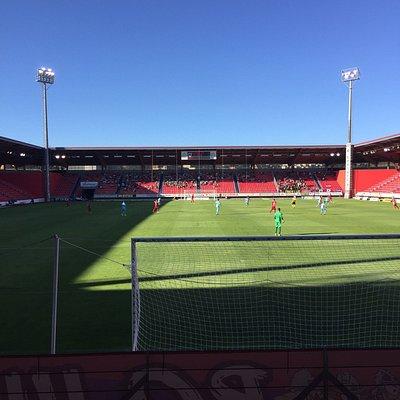 Así queda el estadio Los Pajaritos tras la nueva reforma.