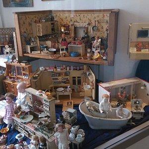 Puppenküchen von damals