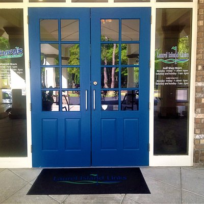 Big Blue Doors