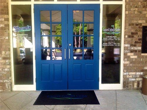Big Blue Doors