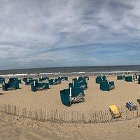 Sehr schöner Strand, die Hunde dürfen ohne Leine laufen👍