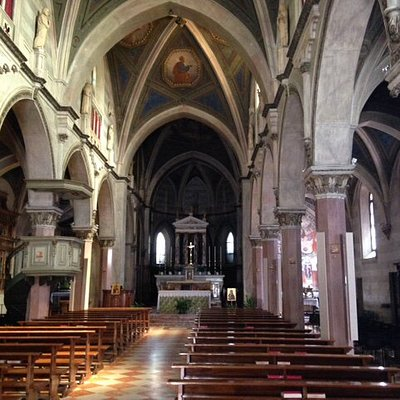 View towards Altar with Pulpit to left