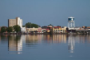 Elizabeth City, NC from the water