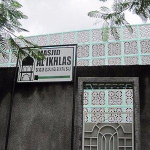 四角いモスク